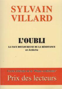 Sylvain Villard auteur ardéchois