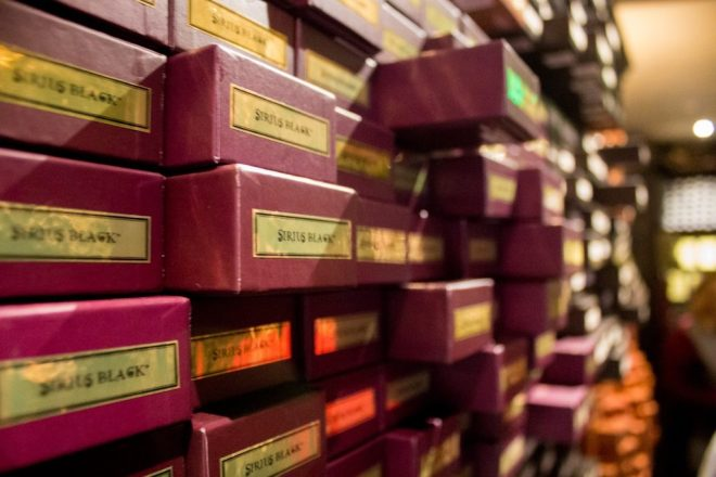 "Ollivander's ""Makers of Fine Wands since 382 B.C."""