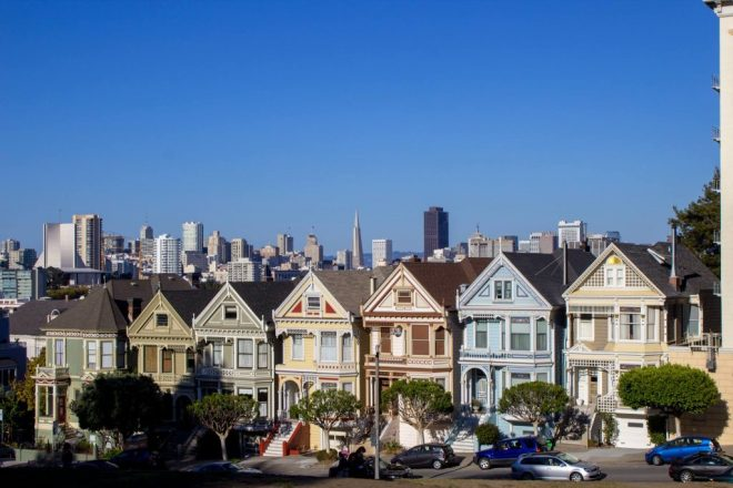 Painted Ladies, Alamo Square.