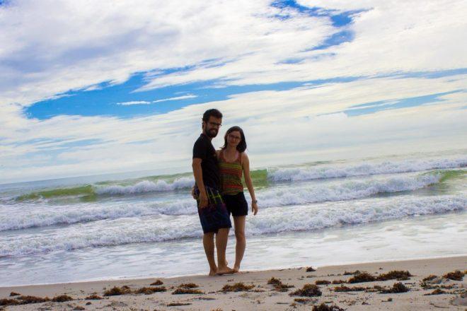 La plage de Cocoa Beach.