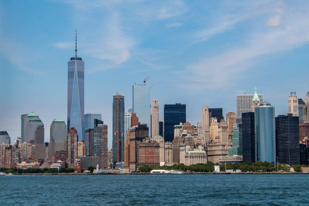 Le quartier financier de New York, mai 2016.