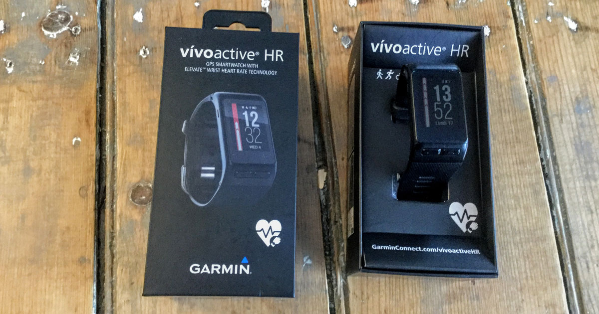 Mon évaluation subjective de la Garmin vivoactive HR