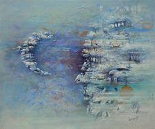 """""""La Lune"""" huile 54 x 42"""