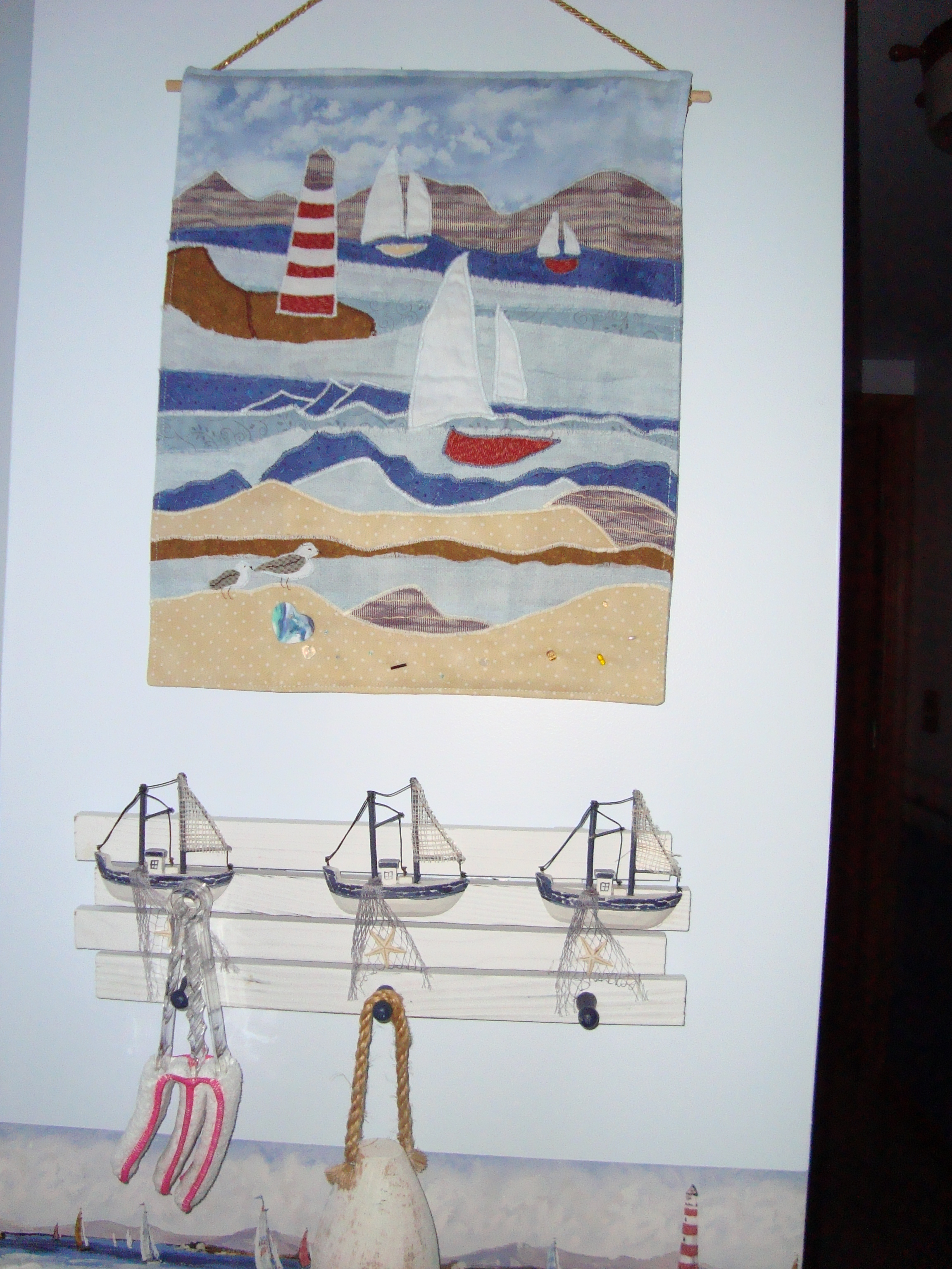 the wall hanging