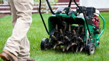 Fall Turf Care - Aeration