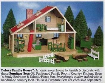 Old Fashioned Family Room  Sylvanian Haven