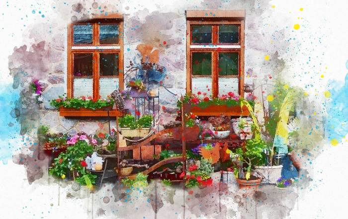 painting-with-flowers
