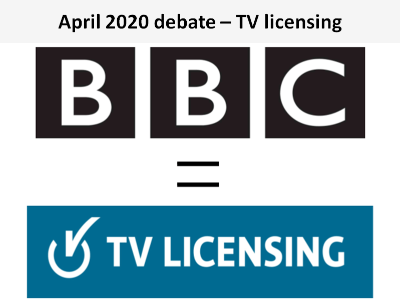 In this TV licensing debate, the Sylvans rejected the view that the BBC's TV licence fee should continue to be compulsory.