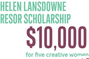 Helen Lansdowne Resor Scholarship for Creative Women