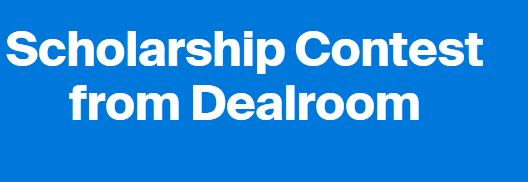 Scholarship Contest from Dealroom