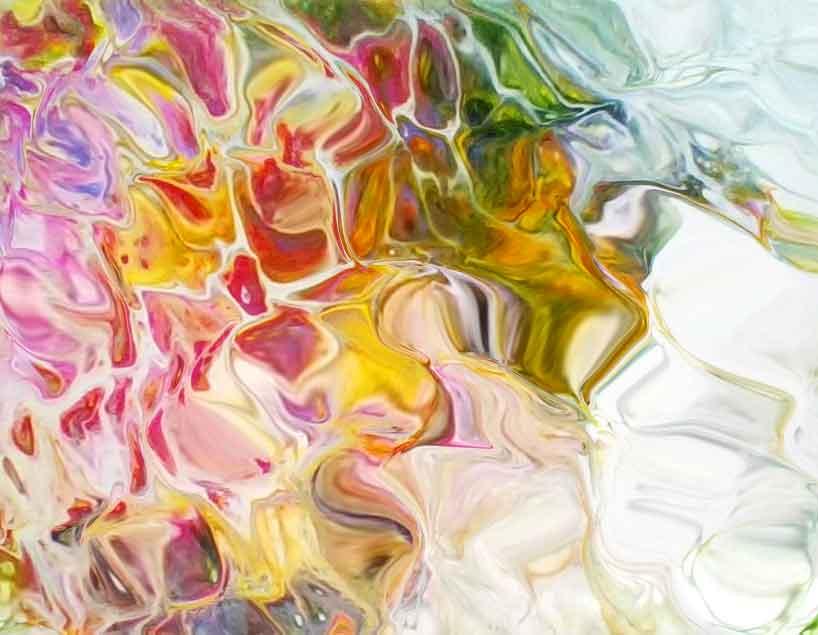 acrylic pour image