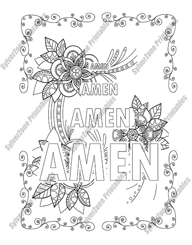 The Lord's Prayer: An Illustrated Version for Coloring and