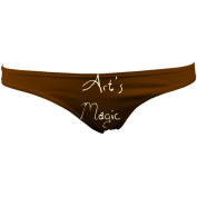 AMLowRiseThong (Chocolate) £28