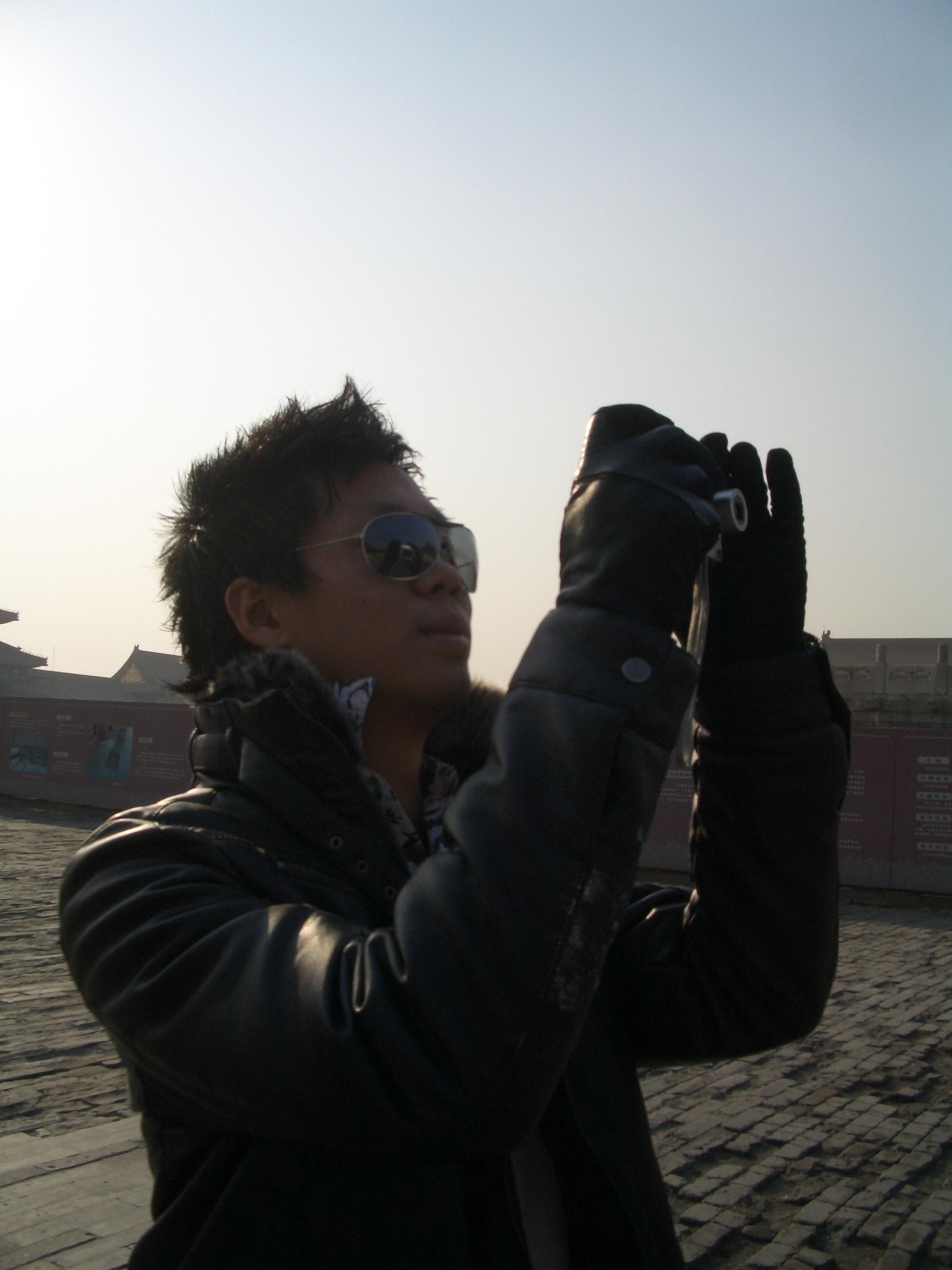 Jae at the Forbidden City in Beijing
