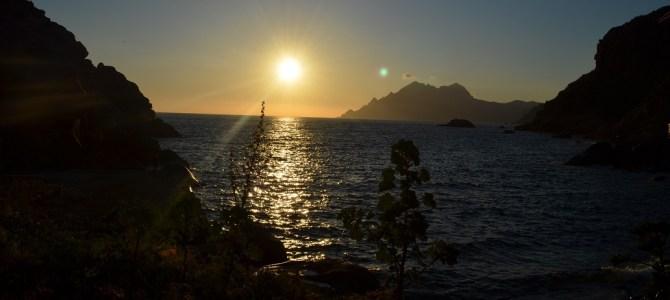 Porto und der schönste Sonnenuntergang Korsikas
