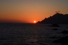 Porto's Sonnenuntergang