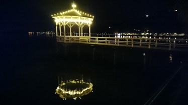 Fischersteg bei Nacht