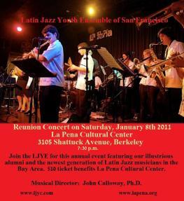 Concert flyer -La Pena Cultural Center