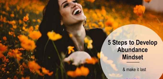 develop abundance mindset