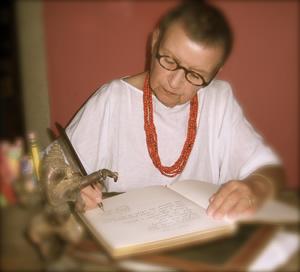 Author and illustrator Alexandra Wallner