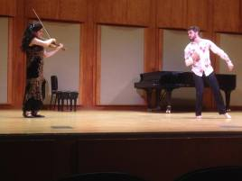 Degree recital encore: improvisation for movement. Sammo Gabay, dancer. February 2015