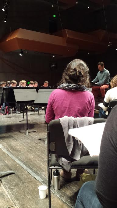 Rehearsing Verdi's Requiem with James Bagwell