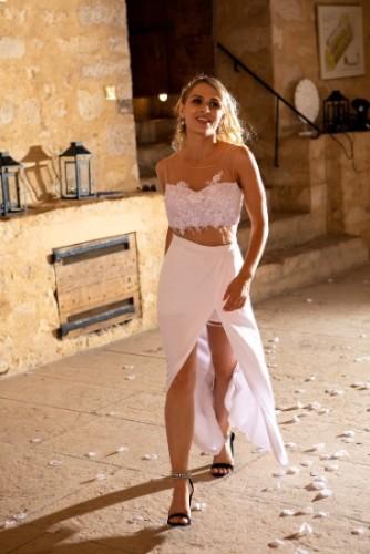 robe de soirée Lyon, robe de mariage soirée