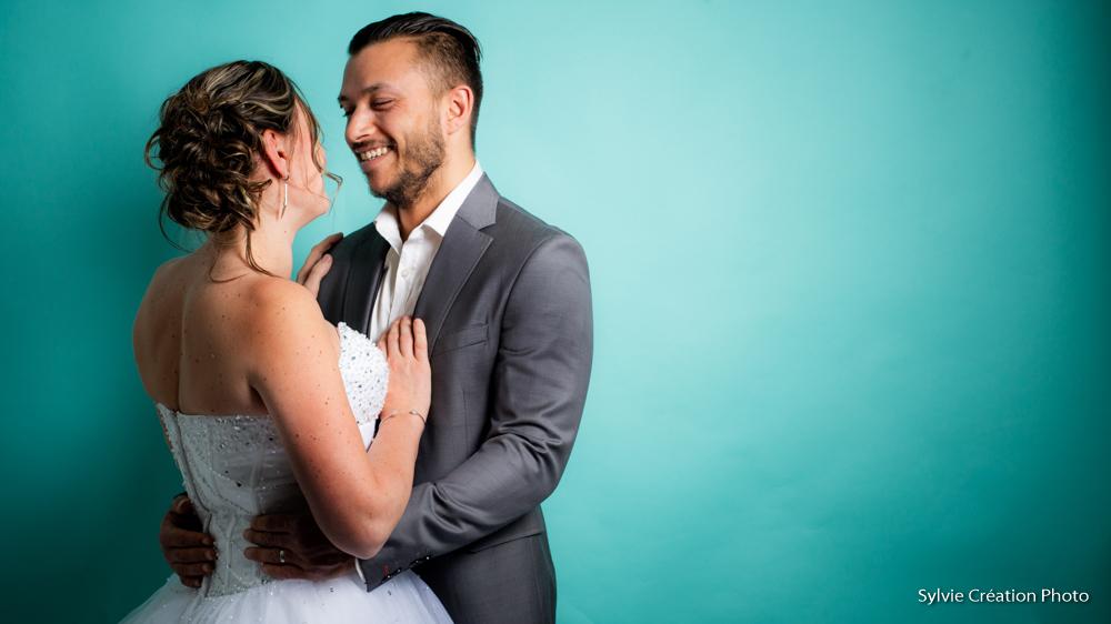 Studio mariage jour j couple