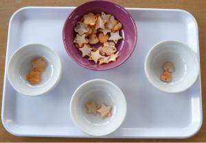 Materiel Montessori tri