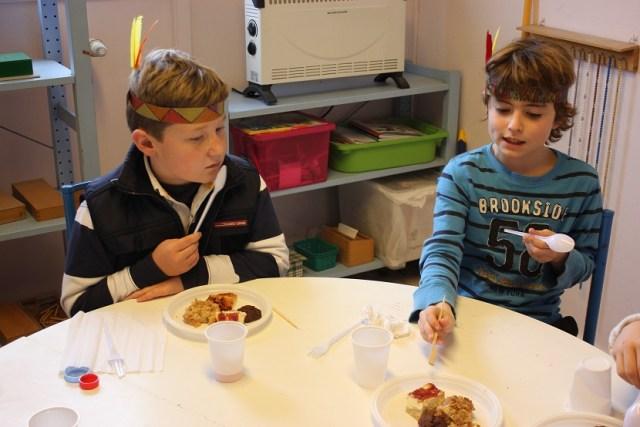 Ecole Montessori Athéna -les élèves de primaire.