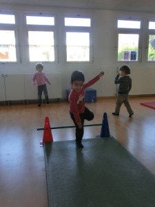 Montessori classe de sport