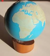 Montessori globe