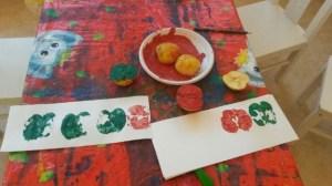Montessori travaux artistiques