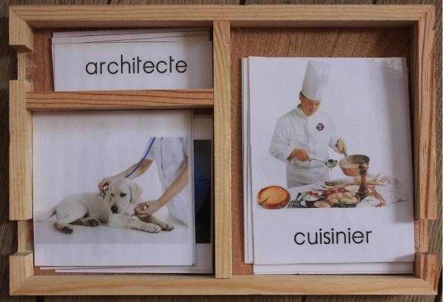 Montessori cartes de nomenclature