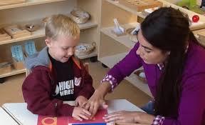 Montessori écriture
