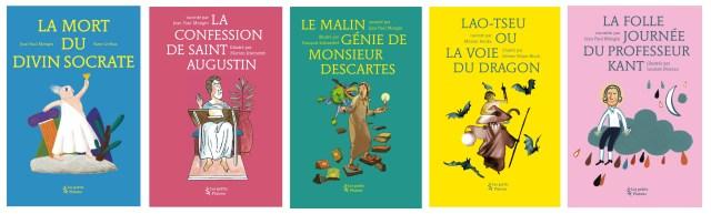 Une belle collection : Les petits Platons