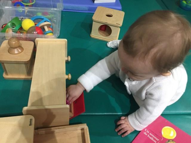 Montessori sensorielle