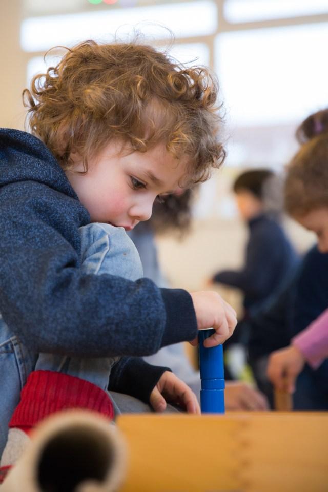 Montessori apprentissage
