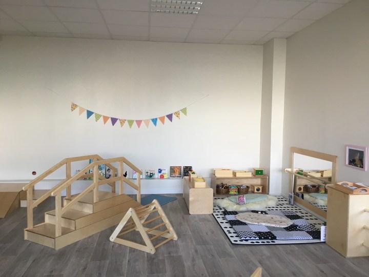 Aménagement d'une micro crèche Montessori à Saint-Jean-Leblanc