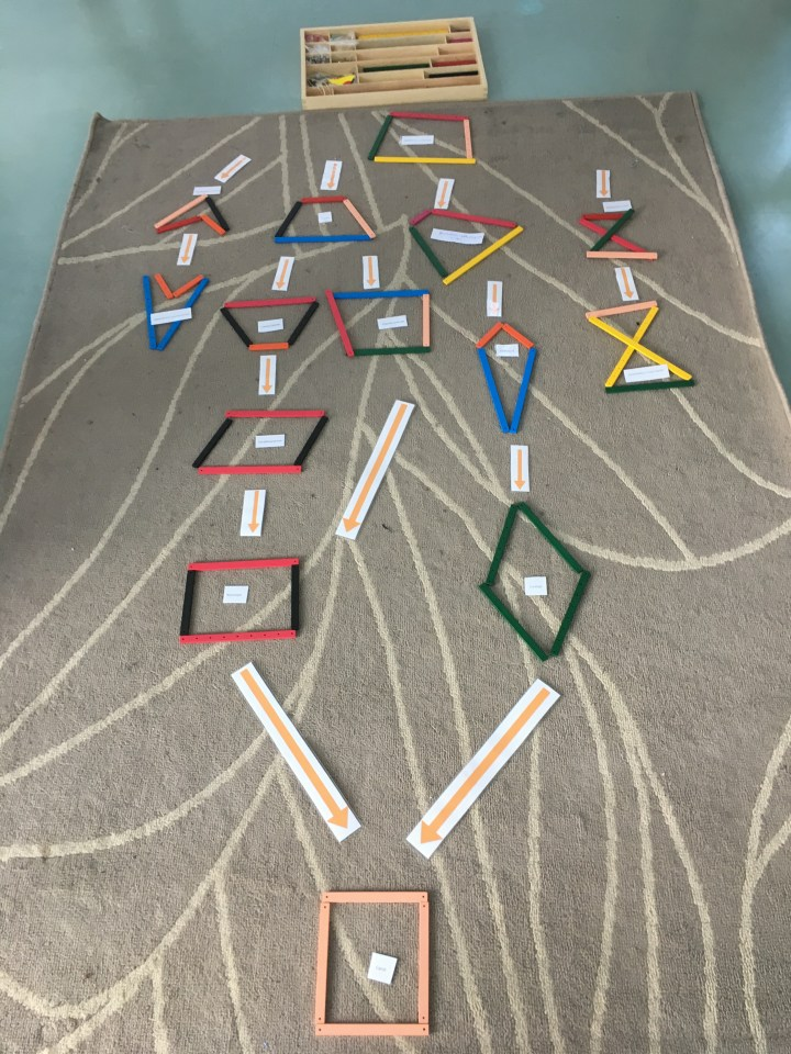 Montessori géométrie