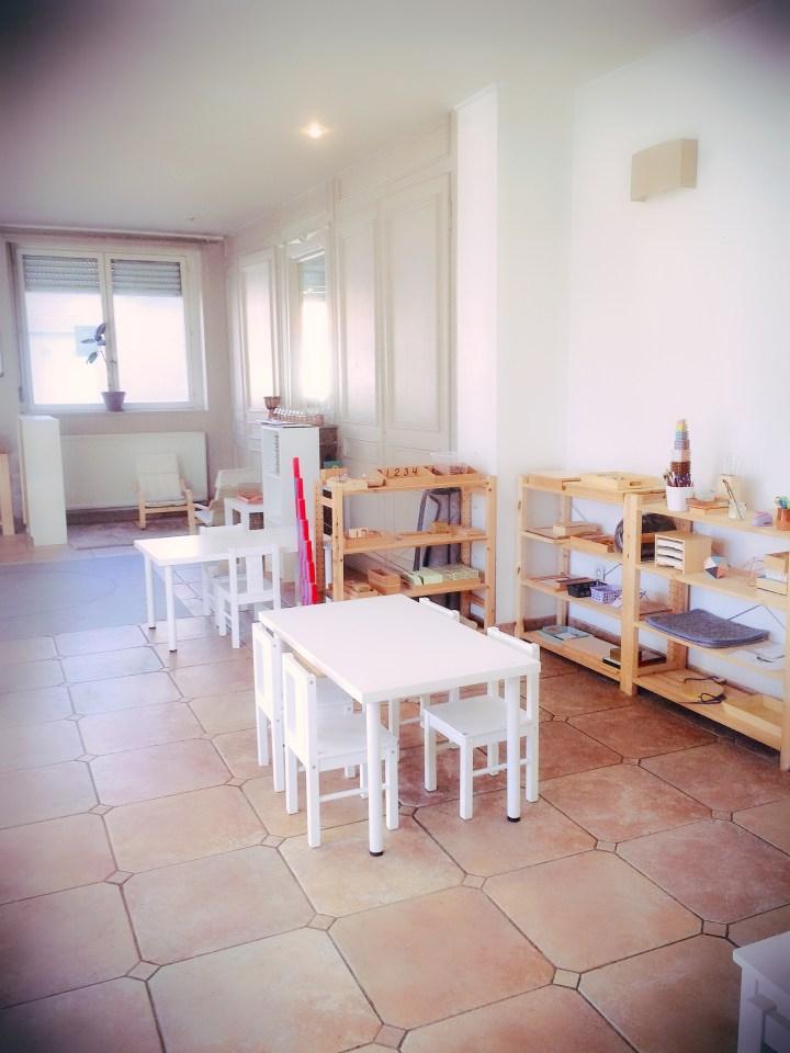Encore quelques places dans notre école Montessori Athéna de Carvin
