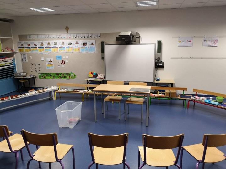 Montessori - enseignant