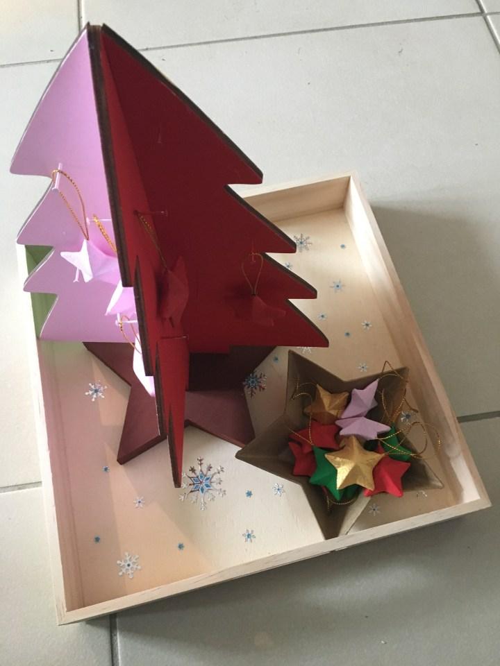 Jolis plateaux de Noël
