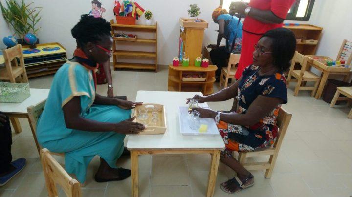 Une formation Montessori à Abidjan
