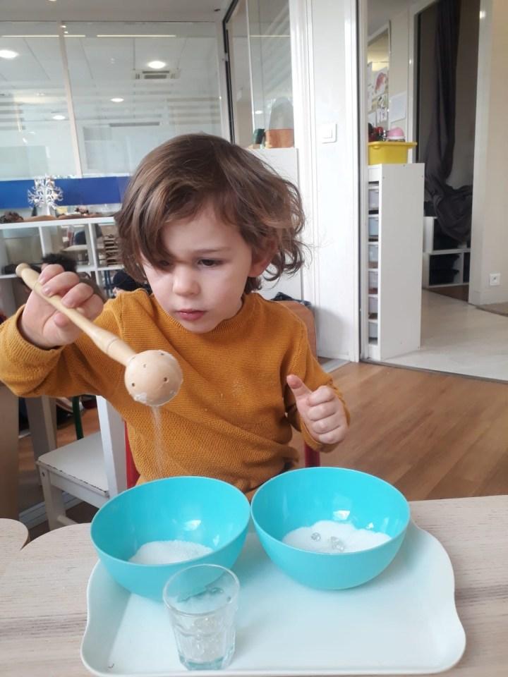 Notre école Montessori Athéna de Clichy
