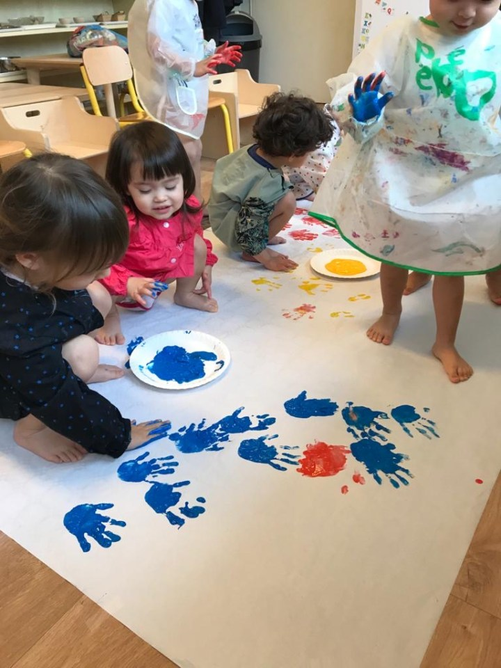 L'art dans les écoles Montessori Athéna