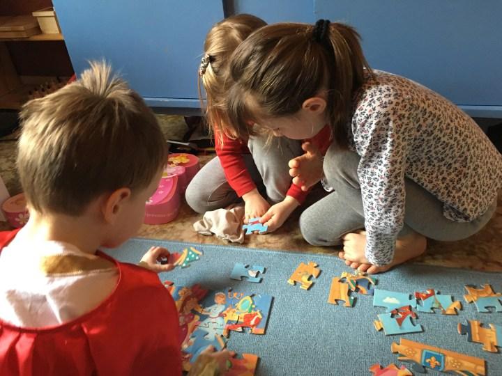 Les puzzles, alliés du développement cérébral