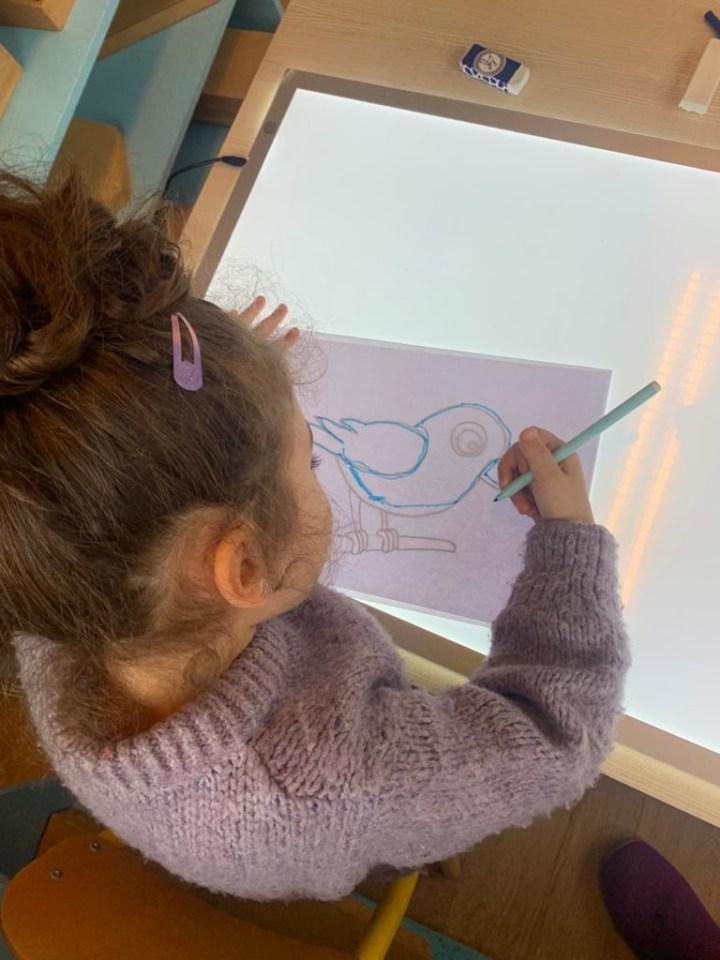 L'écriture et les enfants
