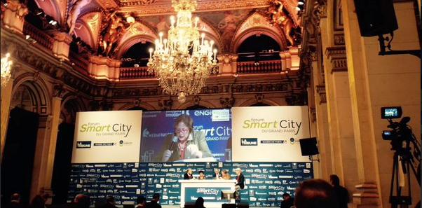 Conférence du 27/11/2015 pour le forum Smart City du Grand Paris - Quelle est l'empreinte écologique d'une métropole ?