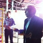 Guy Collin et Justin Keating nous parlent des travaux.